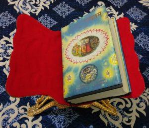Srimad Bhagavatam on Golden Throne